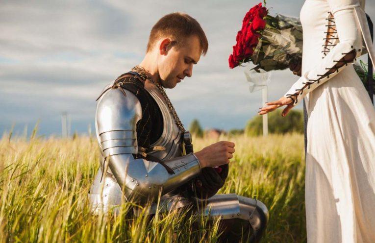 рыцарь букет